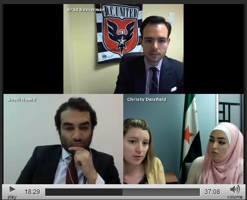 http://www.spreecast.com/events/mena-chat-us-policy-toward-syria